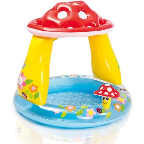 Intex Mushroom Baby Pool 57114NP - Multicolour
