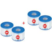 INTEX - Pack 4 recambios filtros purespa S1