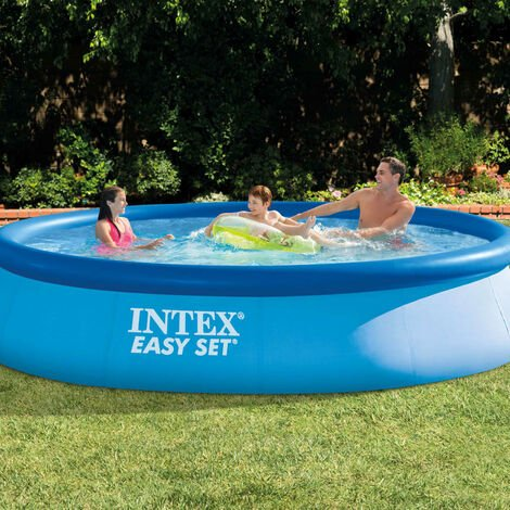 Intex Piscina Easy Set 396x84 cm 28143NP