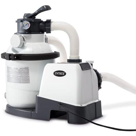 Intex Pompe de filtration à sable Krystal Clear 26644GS 4,5 m³/h