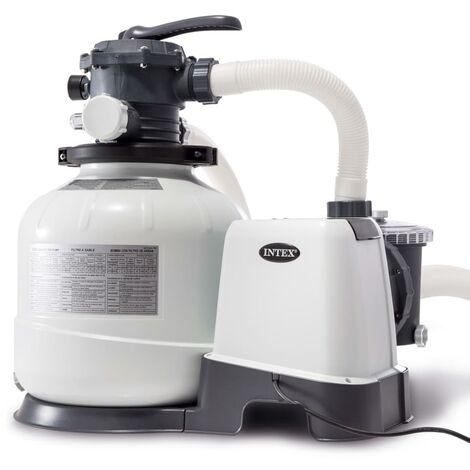 Intex Pompe de filtration à sable Krystal Clear 26648GS 10,5 m³/h