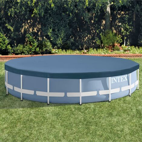 """main image of """"Intex Swimming Pool Cover Round Cloth Sheet Protector Outdoor Multi Sizes"""""""