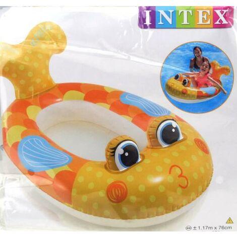 Intex Pool Cruiser Boot Flugzeug Auto Fisch aufblasbar Kinder Gummiboot