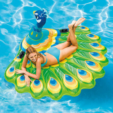 Intex Pool Float Peacock Island 57250EU - Multicolour