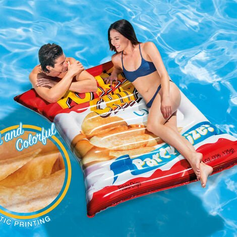Intex Pool Float Potato Chips 178x140 cm 58776EU - Multicolour