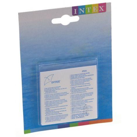 Intex Reparaturflicken 7x7cm 6er Pack für Pool Planschbecken Luftmatratze