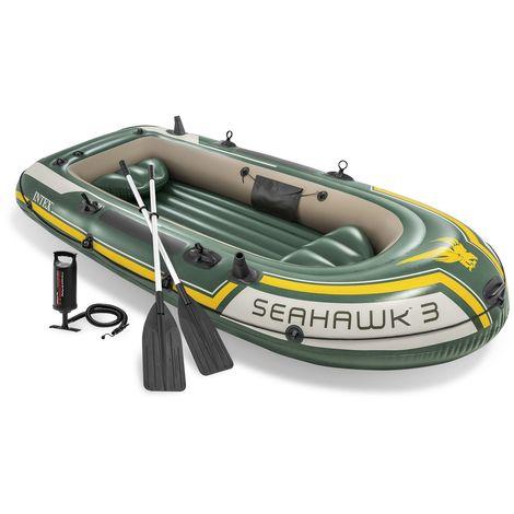 Intex Schlauchboot Excursion 4 / 5 Challenger K2 / 3 Schlauchboot Ruderboot Angelboot