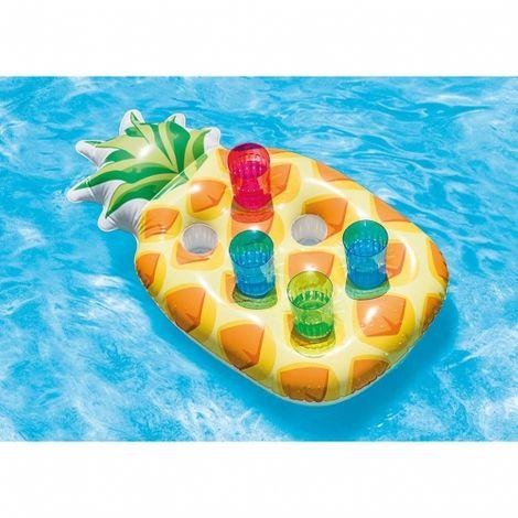 Intex schwimmender Pool Getränkehalter Ananas für 6 Getränke