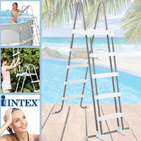 Intex Sicherheitsleiter für Pools von 132 cm Höhe 28077