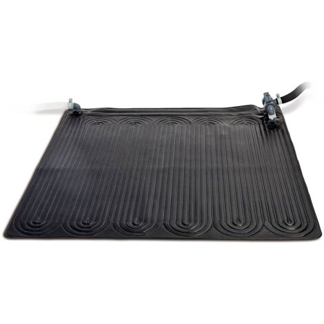Intex Solar Heating Mat PVC 1.2x1.2 m Black 28685 - Black