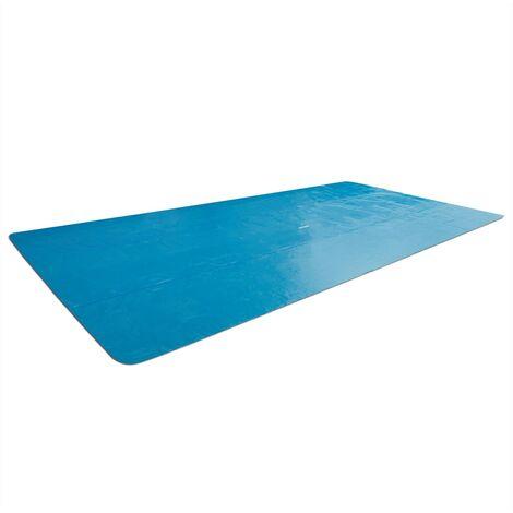 "main image of ""Intex Solar Pool Cover Rectangular 400x200 cm - Blue"""