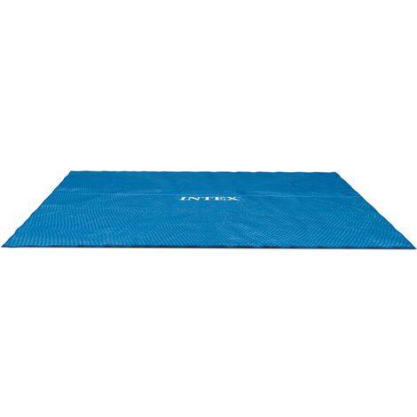 "main image of ""Intex Solar Pool Cover Rectangular 549x274 cm 29026 - Blue"""