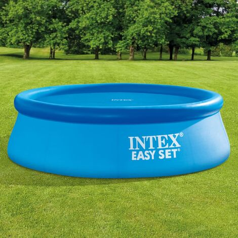"main image of ""Intex Solar Pool Cover Round 244 cm - Blue"""