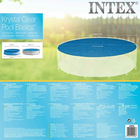 Intex Solar Pool Cover Round 366 cm 29022