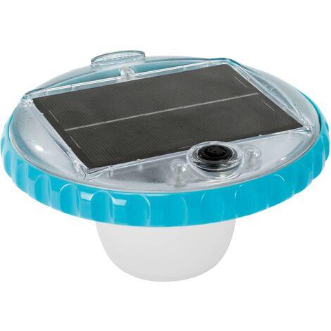 """main image of """"Intex Solar Powered LED Floating Pool Light - White"""""""