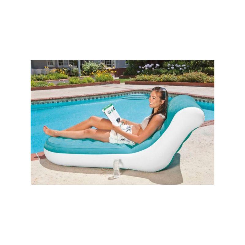 Intex 68880 Splash Lounge Fernsehsessel Luftmatratze Schwimmliege aufblasbar