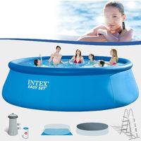 Intex Swimming Pool Easy Ø 457x122 cm - Komplettset