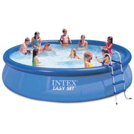 INTEX Swimming Pool EASY SET 457x107 Komplettset 26166