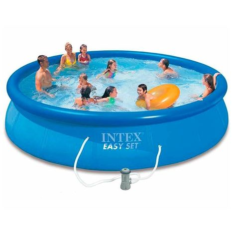 INTEX Swimming Pool Easy Set 457x84 28158