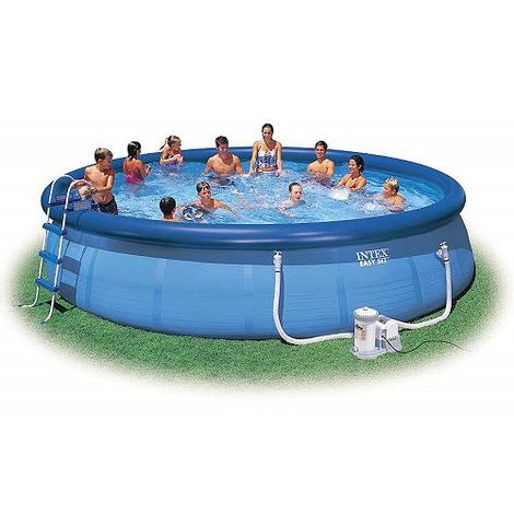 INTEX Swimming Pool EASY SET 549x122 Set ECO 26176