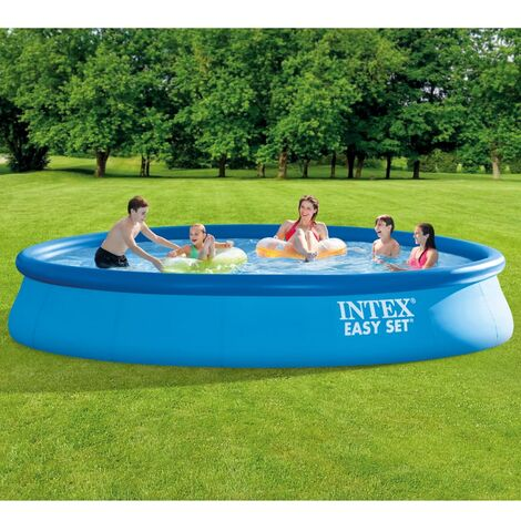Intex Swimming Pool Easy Set with Filter System 457x84 cm - Blue