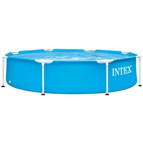 Intex Swimming Pool Metallrahmen 244x51 cm