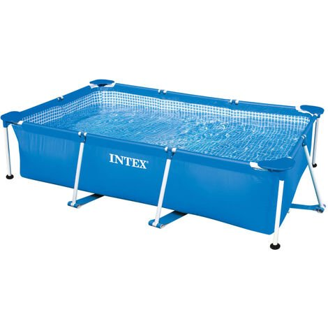 Intex Swimming Pool Rectangular Frame 260x160x65 cm 28271NP