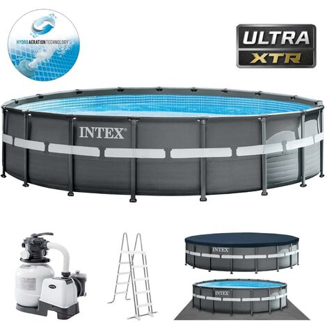 Intex Swimmingpool XTR Ultra Frame Pool Set 549 x 132 cm 26330