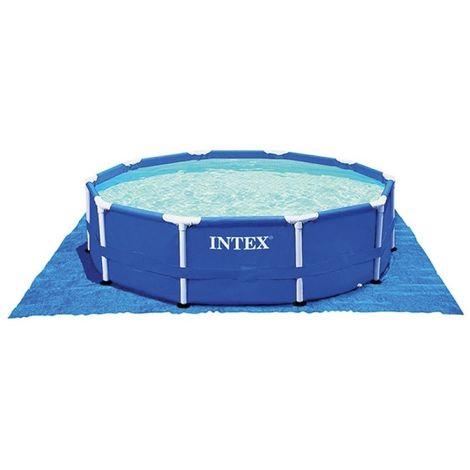 Tapis de sol pour piscines rondes de 2m44 à 4m57