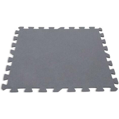 """main image of """"Intex - Tapis de sol en mousse modulable set de 8 Dalles pour protéger Spa ou Piscine"""""""