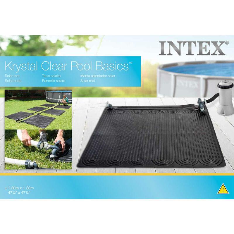 Intex Tapis Solaire Chauffant Pvc 1 2x1 2 M Noir 28685 91056