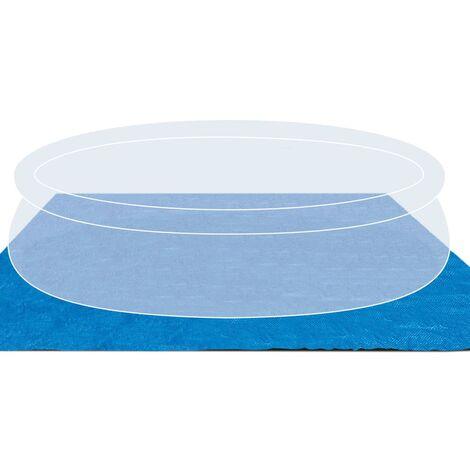 """main image of """"Intex Tela protectora de suelo para piscina cuadrado 472x472 cm 28048 - Azul"""""""
