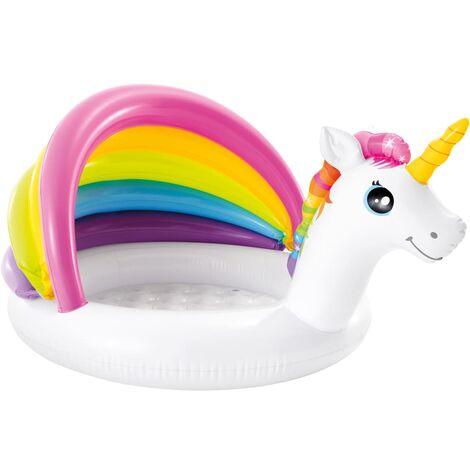 Intex Unicorn Baby Pool 127x102x69 cm - Multicolour