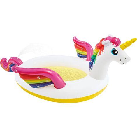 Intex Unicorn Spray Pool 272x193x104 cm - Multicolour