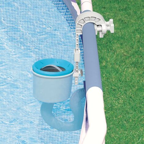 """main image of """"Intex Wall Mount Surface Skimmer Deluxe - Blue"""""""