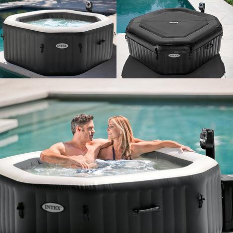 Intex Whirlpool Spa Jet Bubble Massage Becken Salzwassersystem Kalkschutz 28456