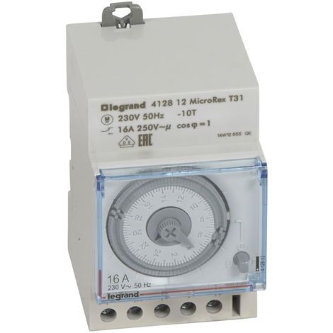 INT.HOR.ANALOG/SR/D/1X16/3MOD LEGRAND 412812