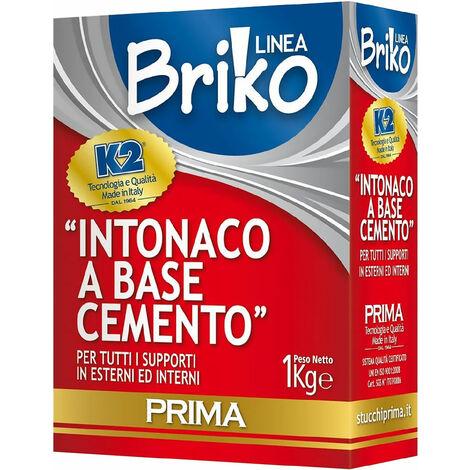 INTONACO CEMENTO 'BRIKO K2' Kg. 1
