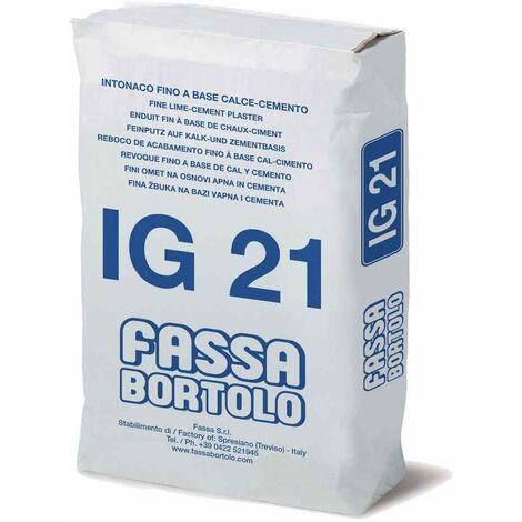 Intonaco di finitura per interni/esterni 30Kg IG21 Fassa