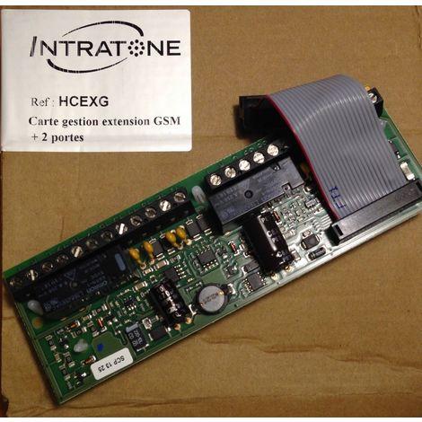 Intratone HCEXG - Map EXTENSION GSM + 2 Türen Zentral VIGIK HCEN12G