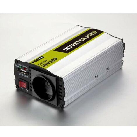 INV300N - Convertisseur de Tension 12V / 220V - 230V 300W Pro User