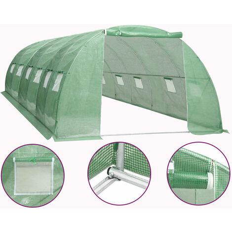 Invernadero 24 m² 6x4x2 m
