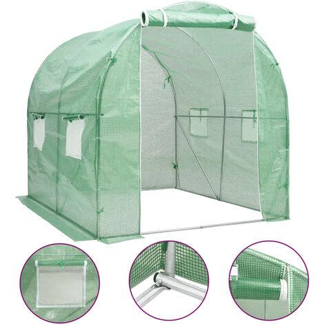 "main image of ""Invernadero 4 m² 2x2x2 m - Verde"""