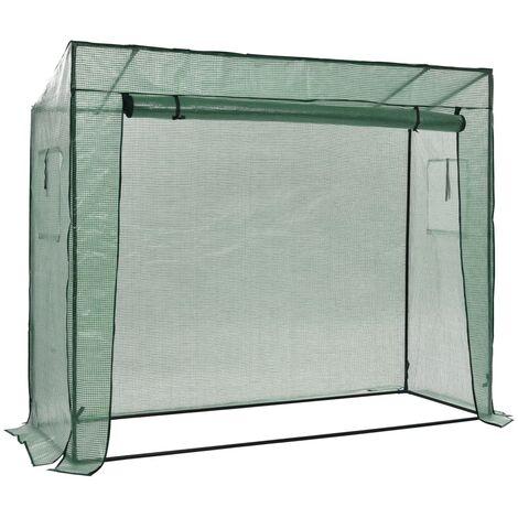 Invernadero accesible de pie 200x80x173 cm