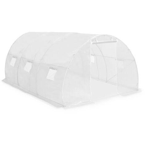 Invernadero con cimientos de acero 13,5 m² 450x300x200 cm