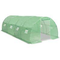 Invernadero con cimientos de acero 18m² 600x300x200 cm