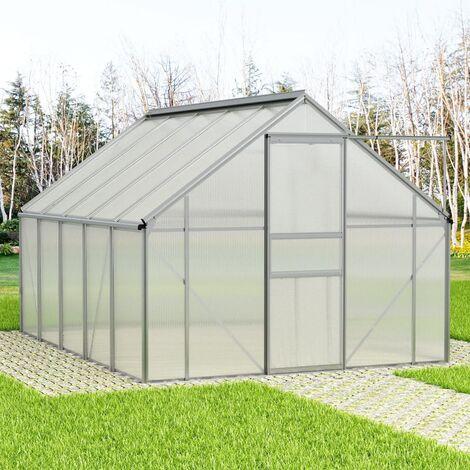 Invernadero de aluminio 15,1 m³