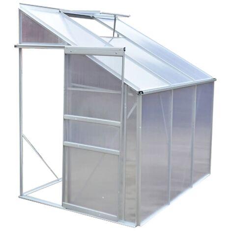 Invernadero de aluminio 3 secciones