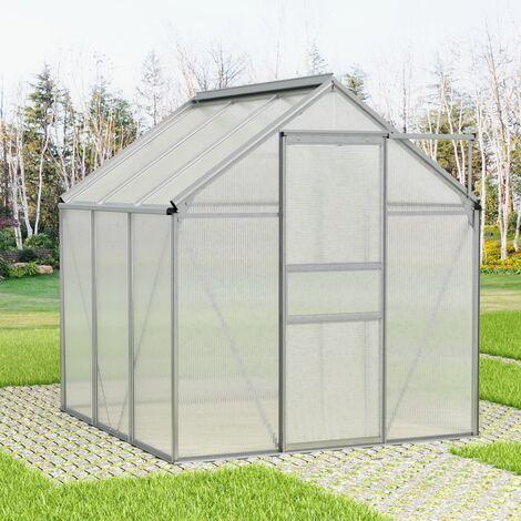 Invernadero de aluminio 7,04 m³