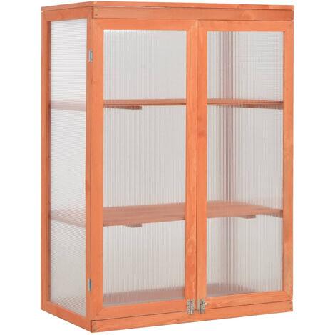 Invernadero de madera 75x47x109 cm